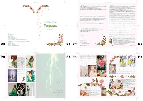 美少女戦士セーラームーン セーラージュピター/木野まこと コスプレ写真集「Turquoise」冊子